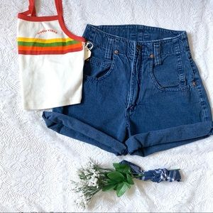 Vintage 90s Hi-Waist LEI Grandma Shorts